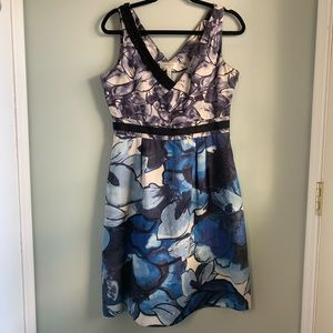 Moulinette Soeurs Anthropologie Indigo Garde Dress